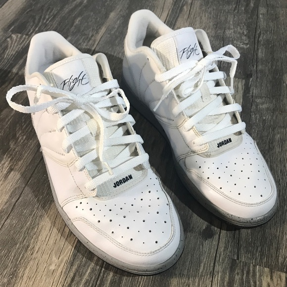 f48f80d5d4a Jordan Shoes | 1 Flight 4 Low Premium White 844559 102 | Poshmark